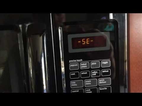 Maytag microwave SE code