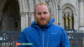 ITV News | Liam Norton | 5 October 2021 | Insulate Britain