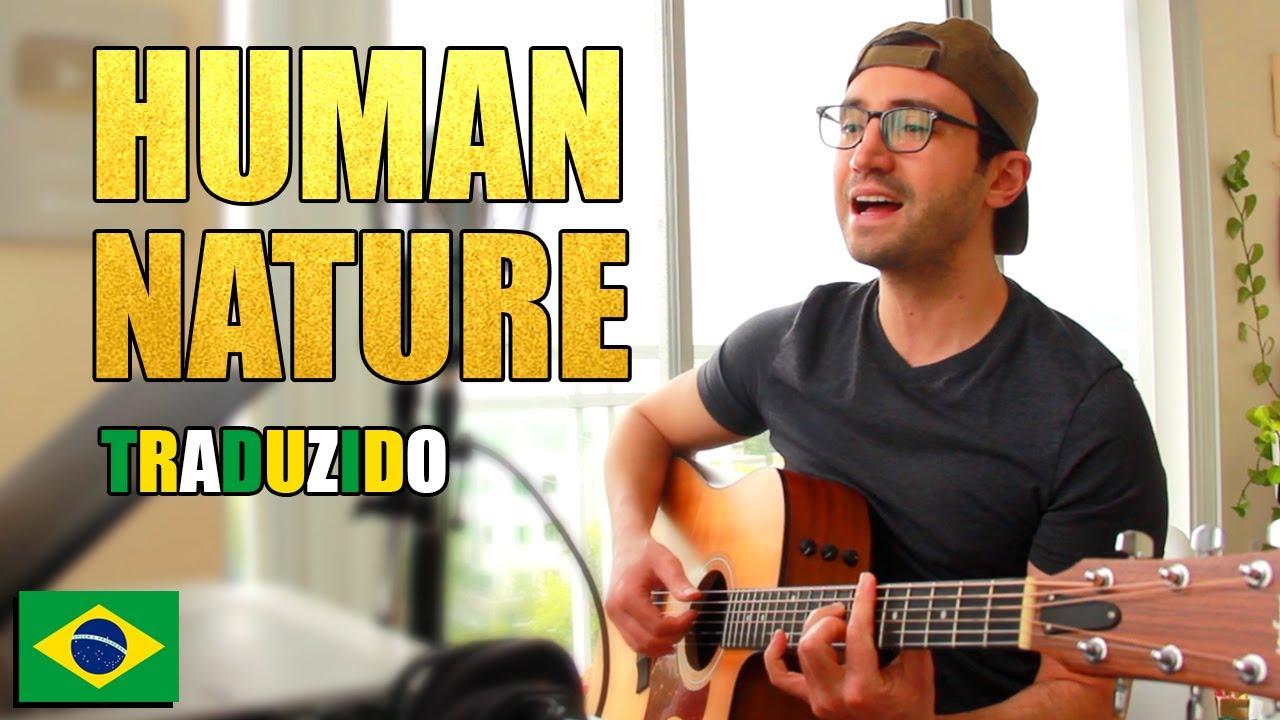 Cantando Human Nature - Michael Jackson em Português (COVER Acústico)
