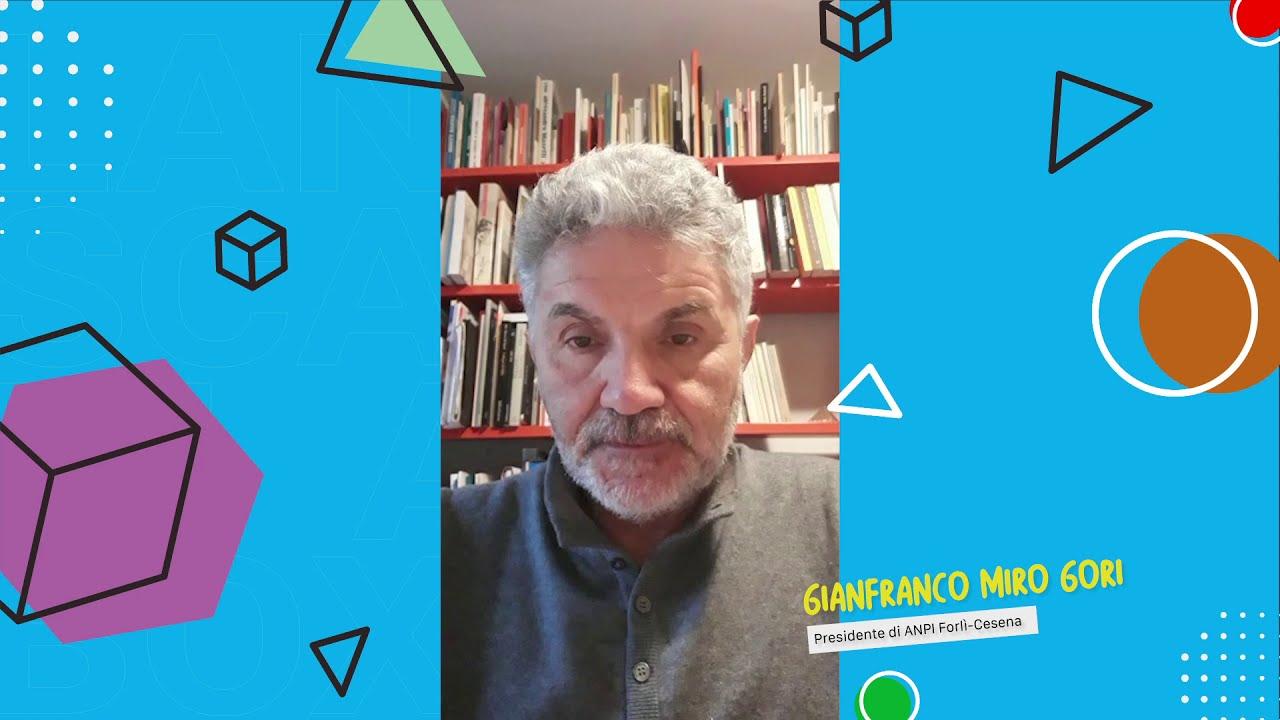 Gianfranco Miro Gori - Presidente di ANPI Forlì Cesena / Landscape in a Box