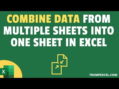 combine data from multiple worksheets into a single worksheet in excel below a video where i show how to combine data from multiple sheetstables  using power query