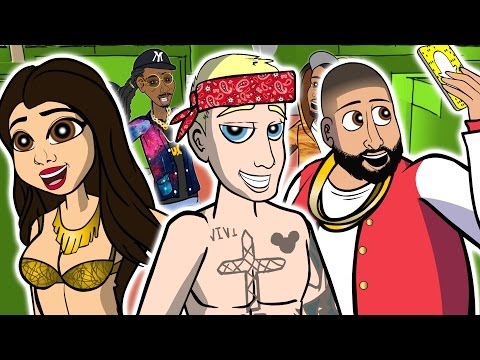 Thumbnail: DJ Khaled ft. Justin Bieber - I'm the One (CARTOON PARODY)
