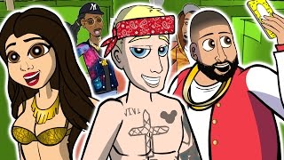 DJ Khaled ft. Justin Bieber - I'm the One (CARTOON PARODY)