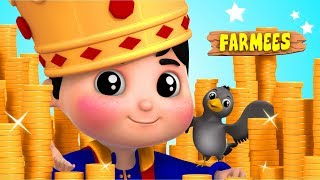Sing A Song Of Sixpence   Kindergarten Nursery Rhymes For Toddlers