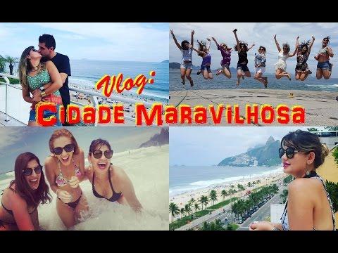 Vlog - Rio de Janeiro com a Arco Íris Cosméticos e Blogueiras