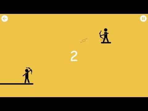 Игра Стикмен лучник igrygameorg