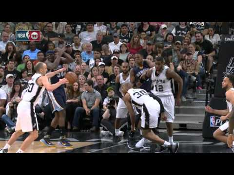 Ginóbili aportó 8 puntos en una nueva victoria de los Spurs sobre Memphis
