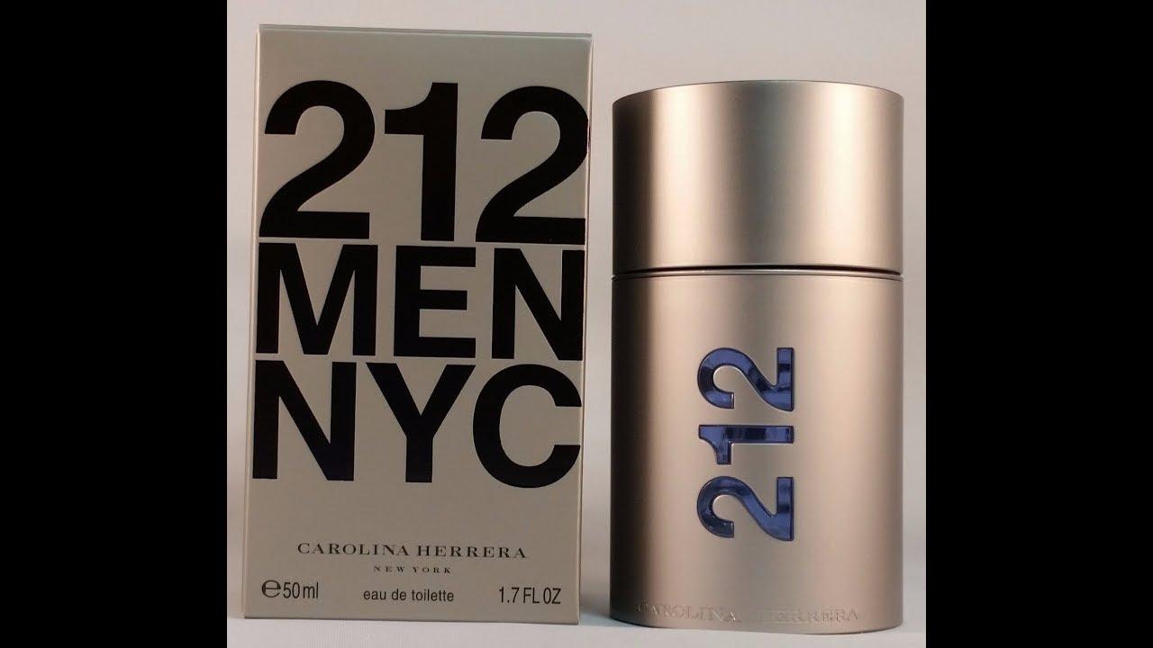 af799bb28 Carolina Herrera 212 Men NYC Review - YouTube