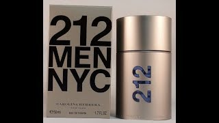 Carolina Herrera 212 Men NYC Review