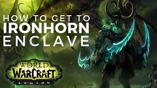 How To Get To Ironhorn Enclave