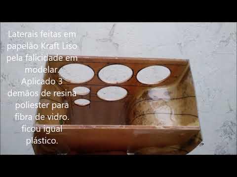 Confecção Console Central Para Instalação Dos Instrumentos Na Brasilia 1980