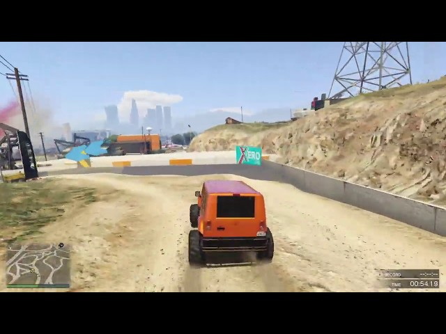 GTA Online Race: El Burro Loop Reversed - link in description