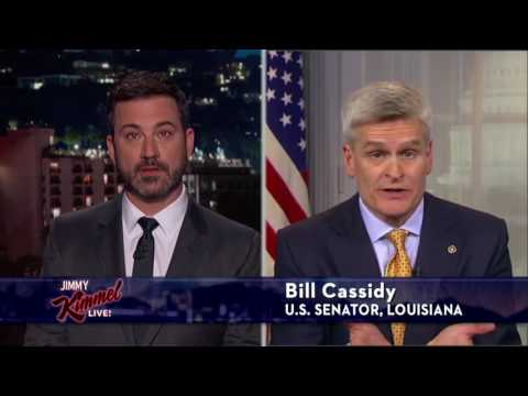 Bill Cassidy on Jimmy Kimmel