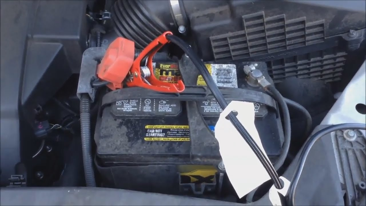 How To Jumpstart A Car Honday Odyssey