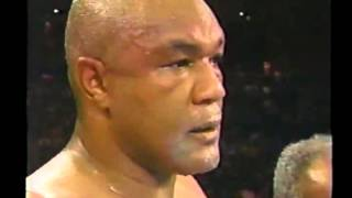 BOXING FIGHTS, Shannon Briggs vs George Foreman 1997 11 22 Boxing Fights