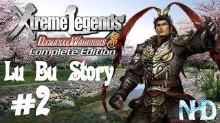 Dynasty Warriors 8 XLCE [PC] (Lu Bu Story Mode pt2 - Lu Bu) Getaway from Hulao Gate
