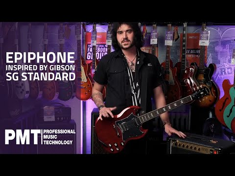 Epiphone SG Standard - All New Epiphone Inspired By Gibson Guitars For 2020