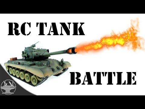 FLAMETHROWER TANK BATTLE (PRANK v PRANK) - YouTube