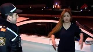 Bakıda iki sərxoş qadın polis əməkdaşlarına çətin anlar yaşatdı