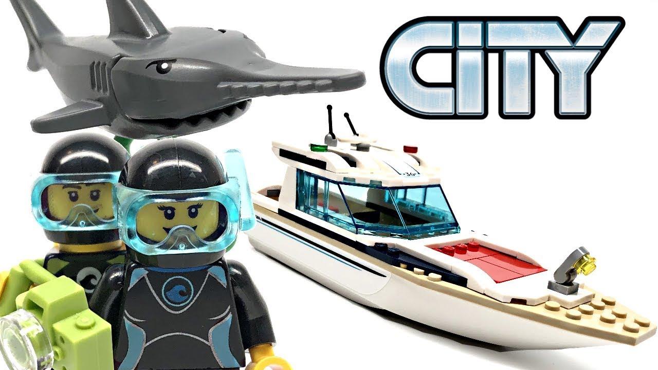 LEGO® City Set 60221 Tauchyacht