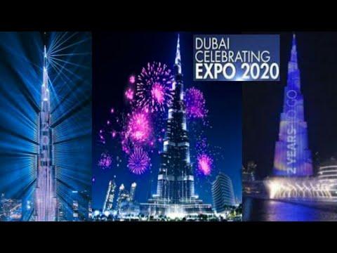 Dubai: Expo 2020 Countdowns Celebration at Burj Khalifa||Simply Amazing!