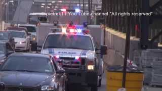 PAPD new police car responding EMERGENCY SERVICE 53931 2014 HD ©