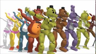 (MMD x FNAF)Little Apple + 200Sub Special