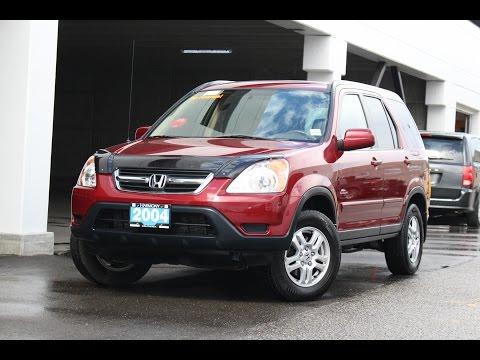 2004 Honda CR-V EX-L - Harmony Honda - 16530A - Kelowna, BC