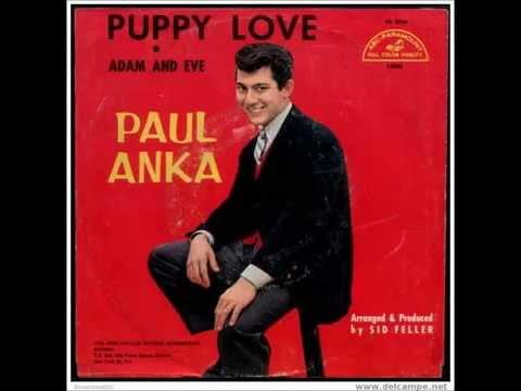 PUPPY LOVE - PAUL ANKA-  Original Version-1960