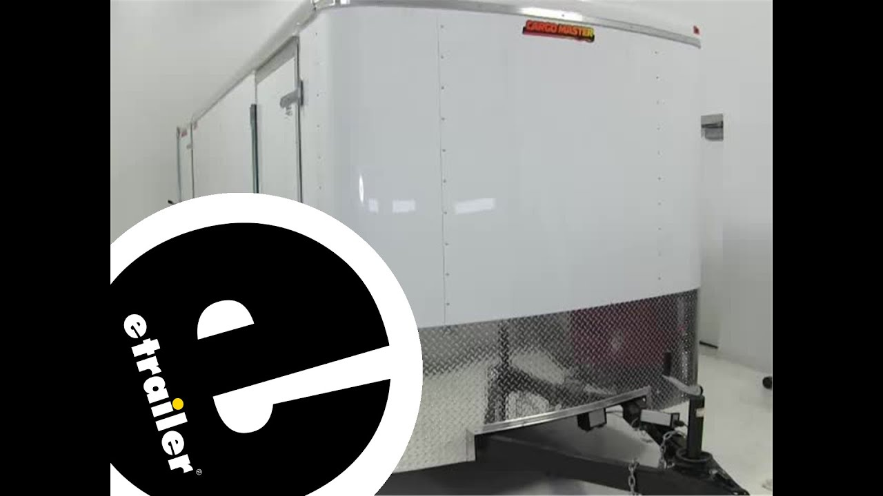 Bargman Interior Light With Switch Installation Etrailercom Youtube Pace Trailer Plug Wiring Diagram