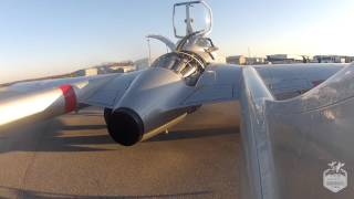 De Havilland Vampire DH-115 Engine Run - Waterloo Warbirds