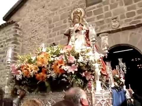 Virgen de Sonsoles - Avila -final procesion 12 Oct. 2008