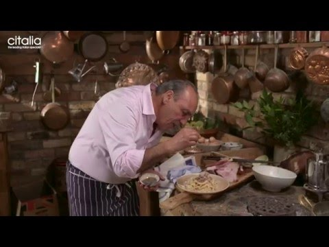 Gennaro Contaldo's Authentic Italian Spaghetti Carbonara   Citalia
