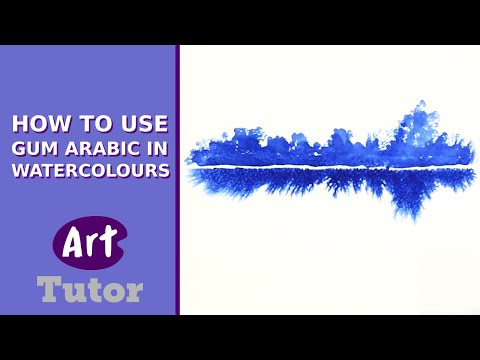 How to Use Gum Arabic in Watercolours