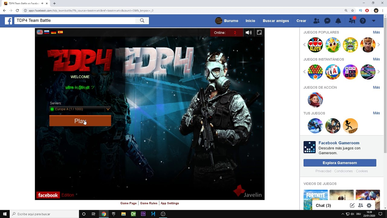 Download ADIÓS TDP4 TEAM BATTLE