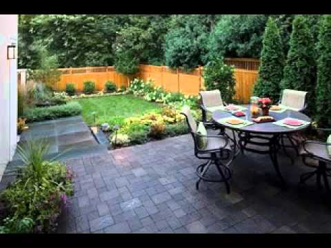 small garden landscaping ideas i kleiner garten. Black Bedroom Furniture Sets. Home Design Ideas