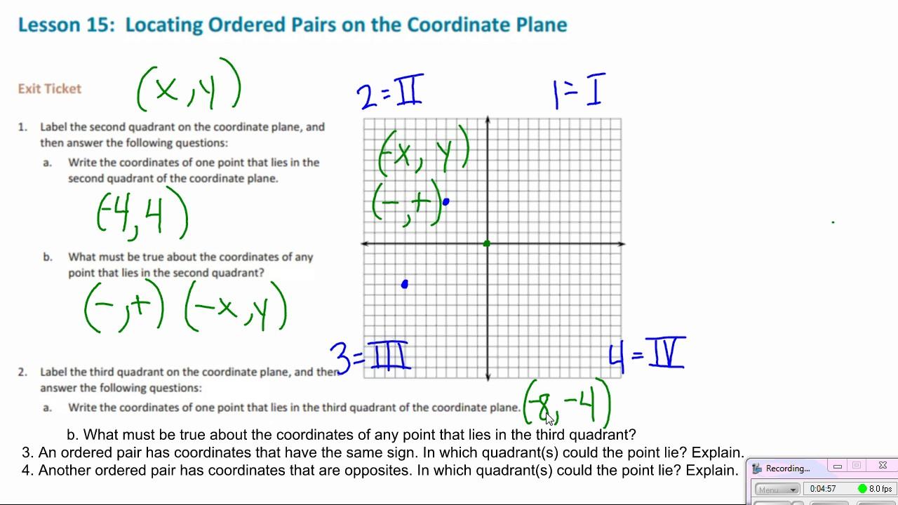6th grade module 3 lesson 15