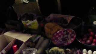 Уличная еда в Индии (Кочин)
