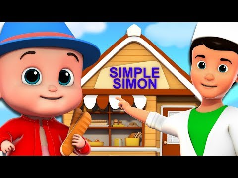 Simple Simon | Junior Squad Videos | Kindergarten Nursery Rhymes by Kids Tv