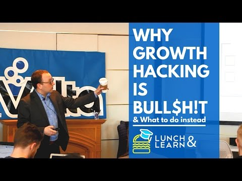 Why Growth Hacking is Bull$h!t — 10 Things to Focus on Instead
