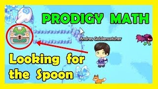 Looking for the Spoon 💥 | Prodigy Math Game | Mission #4: Shiverchill Mountains 🔵 ✅