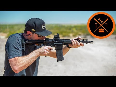 This 9mm AR 15 Pistol is STOOPID CHEAP.....