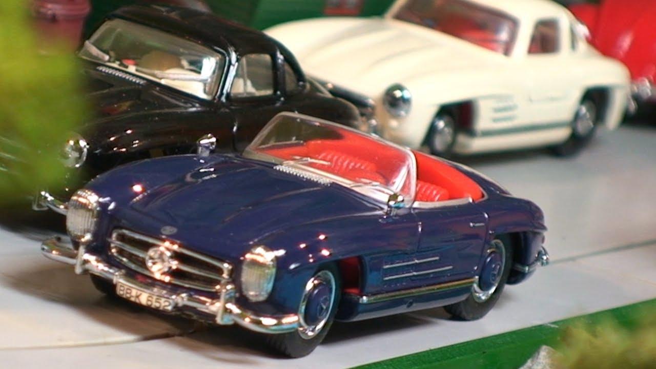 Dinky Toys Mercedes Benz 300 Sl Diecast Model Car Toy Car Video