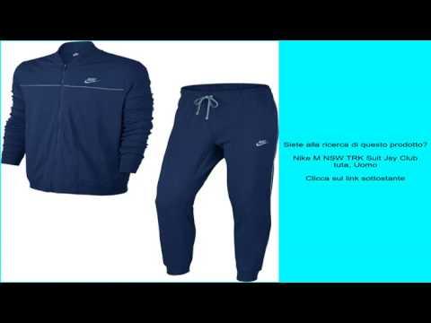 Nike M NSW TRK Suit Jsy Club tuta, Uomo