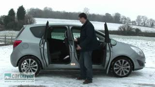Vauxhall Meriva MPV review - CarBuyer