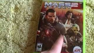 Mass Effect 2 Unboxing Xbox 360