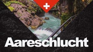 Die Aareschlucht in Meiringen im Haslital | The Aare Gorge
