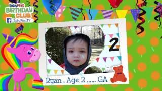 babyfirst bday april bday 8 james aria kaiden vivian lilian ryan maya connor