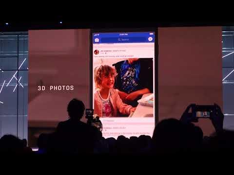 3D photos on Facebook