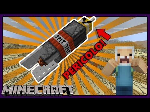 MISSILI DISTRUTTIVI E MEGA ESPLOSIONI - Minecraft